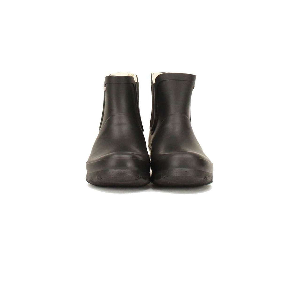 Black Chelsea Boot, Matt Black short wellington