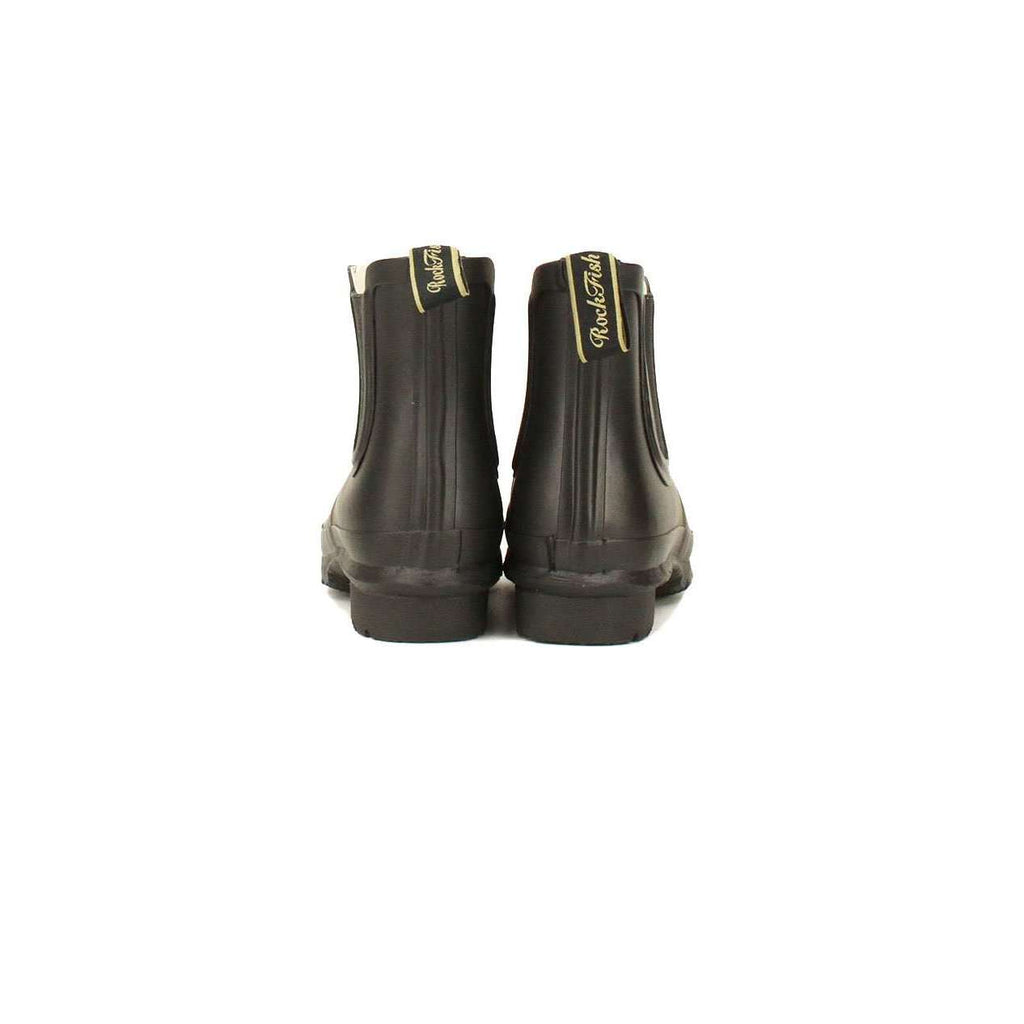 Black Matt Chelsea Boot rubber welly
