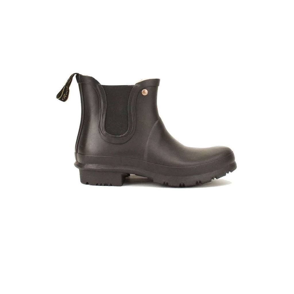 Rockfish Black Short Chelsea Boot