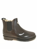 Rockfish Women's Urban Chelsea Boot Gloss Dark Chocolate Wellington