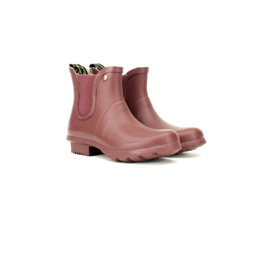 Rockfishwellies Rockfish Women's Chelsea Boot Matt Raisin Wellington