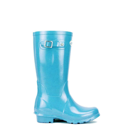 Rockfish Aqua Blue Kids wellies