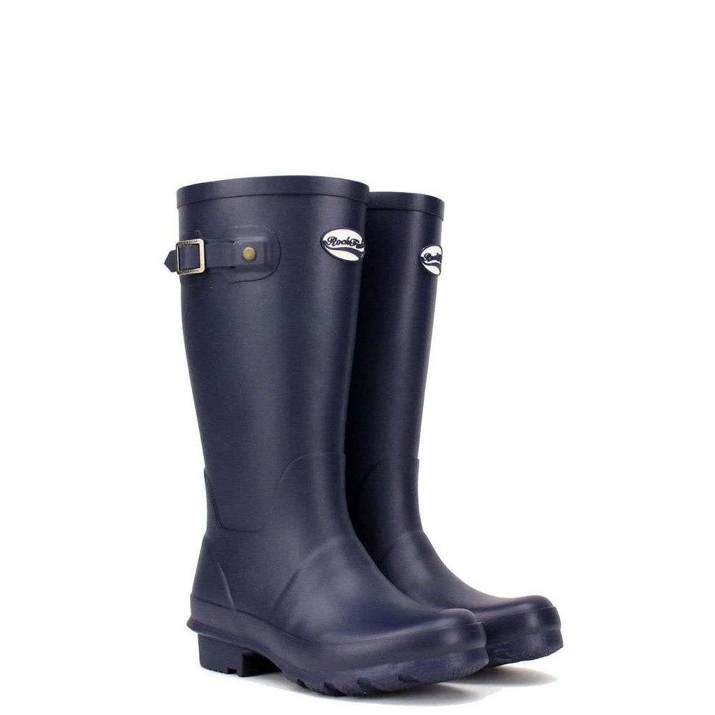 Rockfish Navy Blue Children's boots