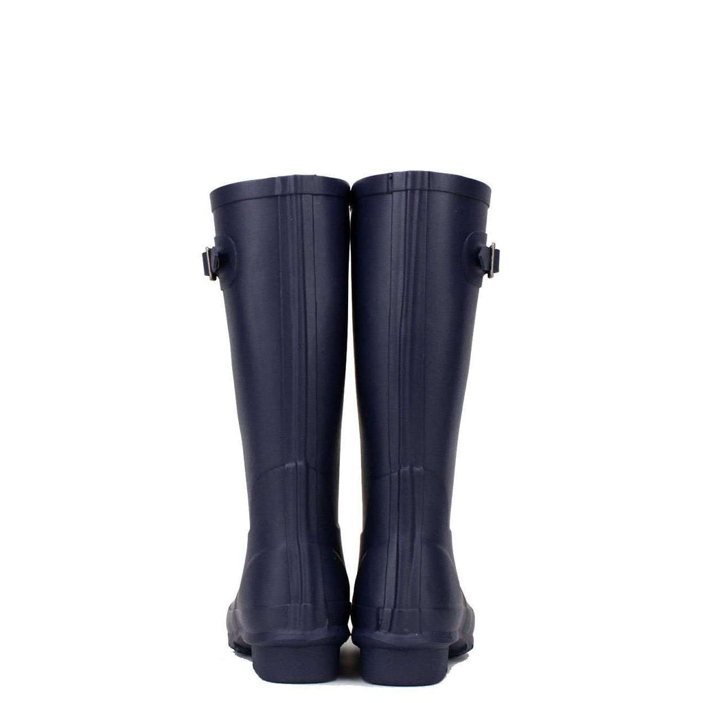Kids Navy Blue rubber boots, wellies from rockfish