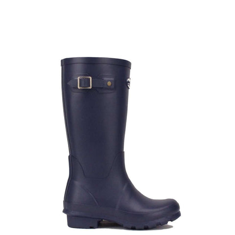 Kids Navy Blue Wellington boots