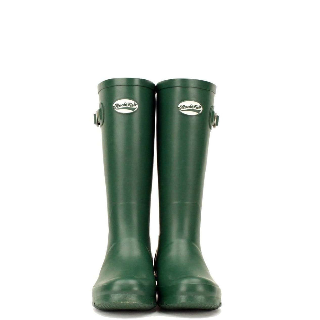 Green wellies for kids from Rockfish