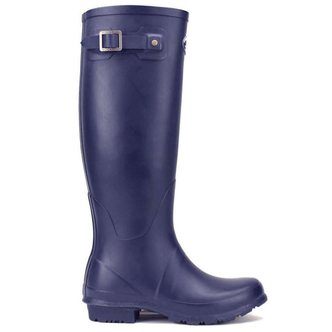 Rockfishwellies.com:Rockfish Women's Tall Matt Our Navy Wellington