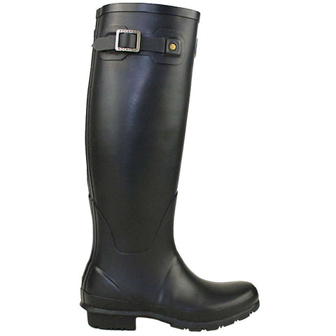 Rockfishwellies.com:Rockfish Women's Tall Matt Black Wellington