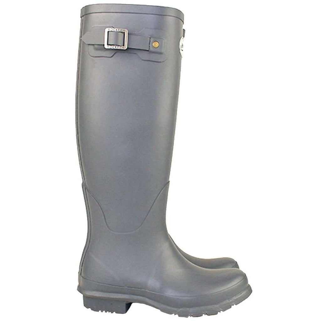 Rockfishwellies.com:Rockfish Women's Tall Matt Earl Grey Wellington