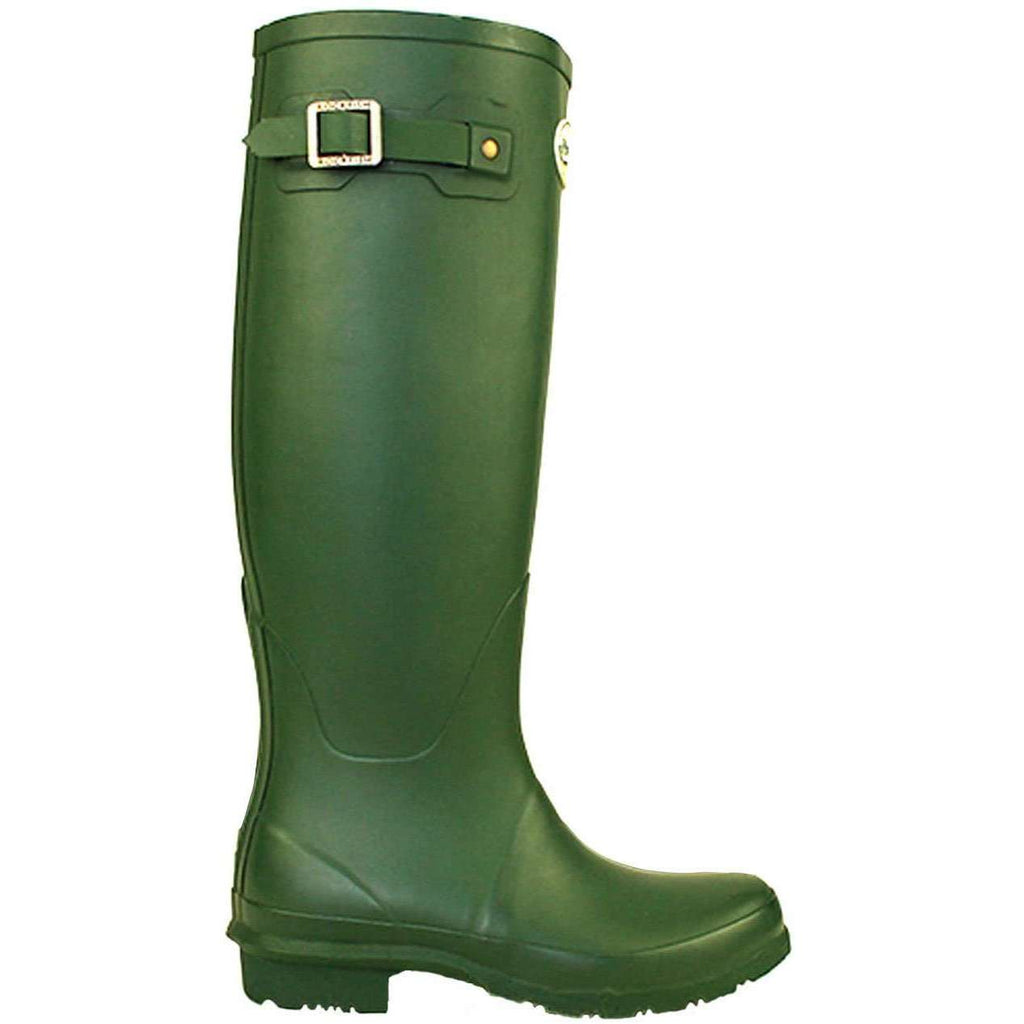 Rockfishwellies.com:Rockfish Women's Tall Matt Racing Green Wellington