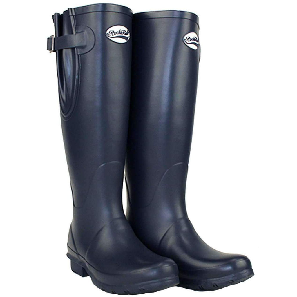 Rockfish Tall Adjustable Our Navy Wellies