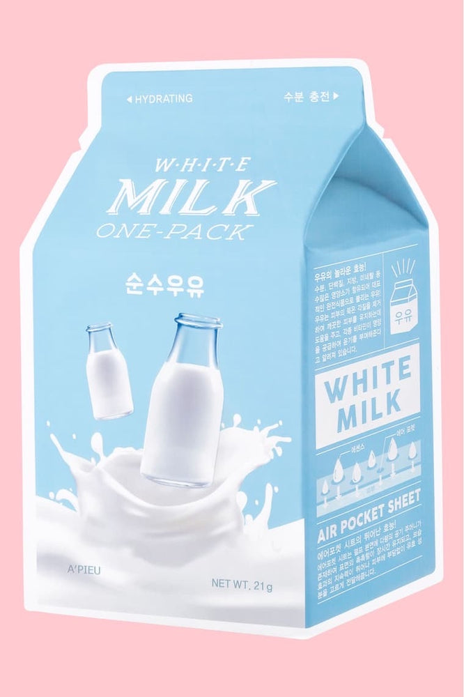 A'PIEU White Milk One Pack