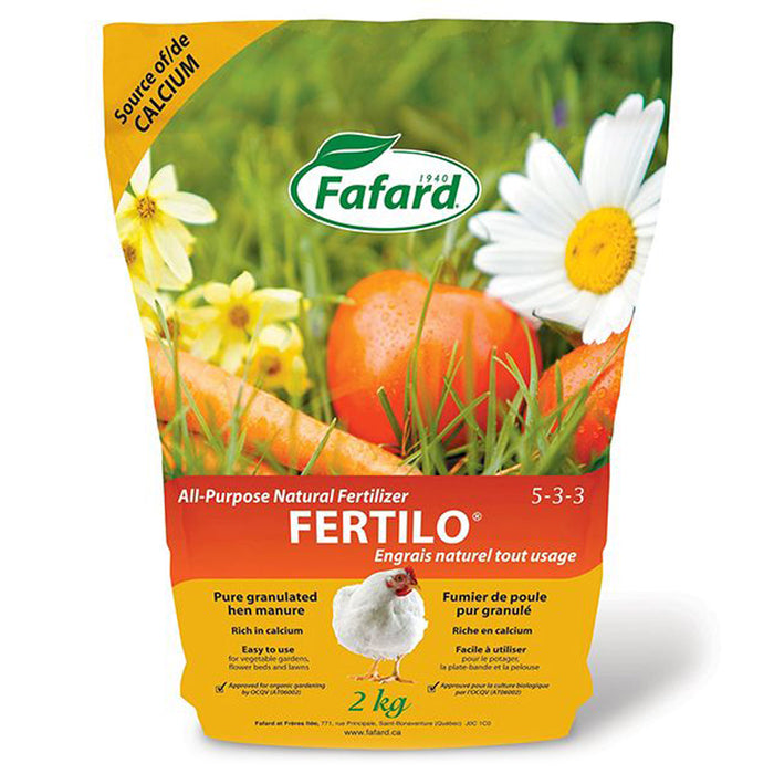 Engrais Naturel Tout usage Fertilo