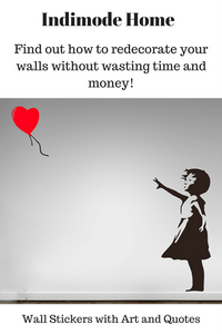 Arty Wall Stickers to Redecorate your Home!