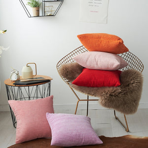 Cool And Funky Corduroy Cushion Covers