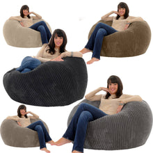 Broad Lined Corduroy Bean Bag - 100cm x 120cm