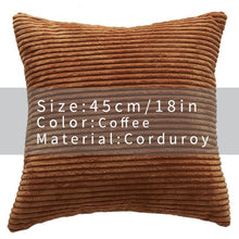 Cool And Funky Corduroy Cushion Covers coffee
