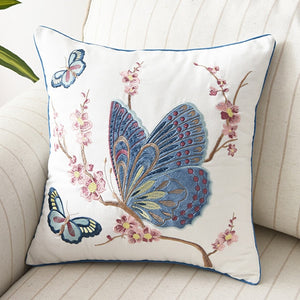 Beautiful Country Style Butterfly Cushion Covers