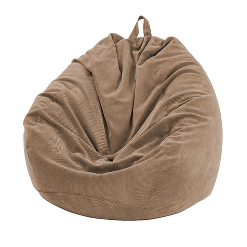 Thin Lined Corduroy Bean Bag