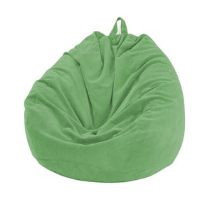 Green Thin Lined Corduroy Bean Bag