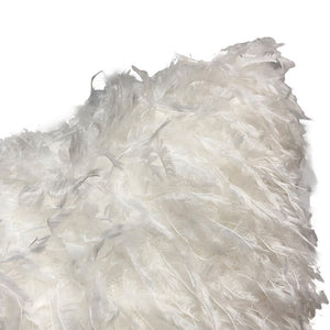 Off-white Eco Feather / Fur Fluffy Cushion Covers