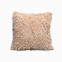 Apricot Eco Feather / Fur Fluffy Cushion Covers
