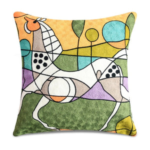 Picasso Embroidery Cushion Covers
