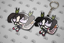 Hachikuji Keychain+Sticker BUNDLE