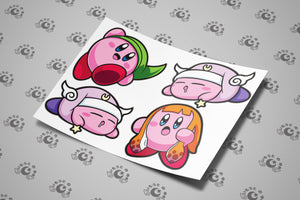 Pink Blobber Sticker Sheet
