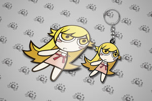 Shinobu Keychain + Sticker SET