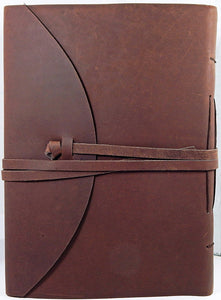 "9"" x 12"" (A4) Buff Leather Journal/Sketchbook"