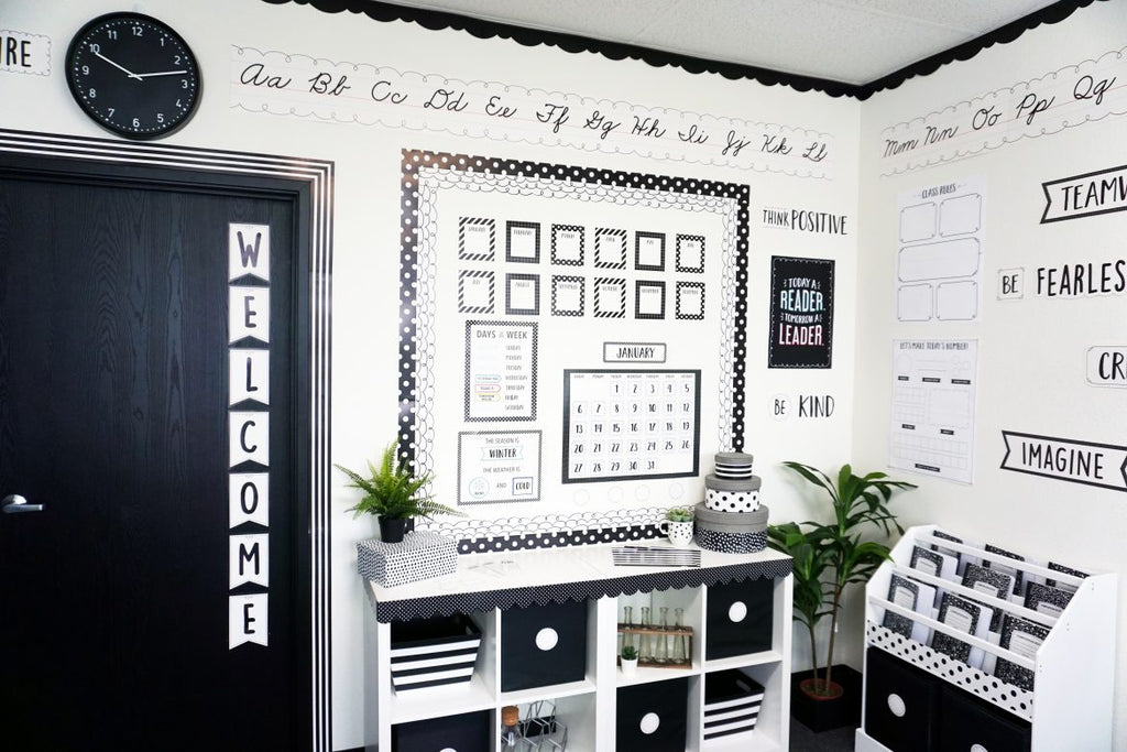 2020 Classroom Trend Report – Black & White with Pops of Color