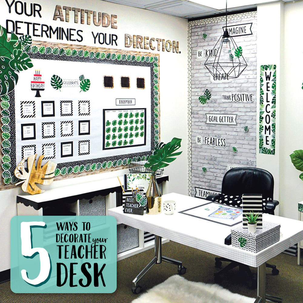5 Ways to Decorate Your Desk