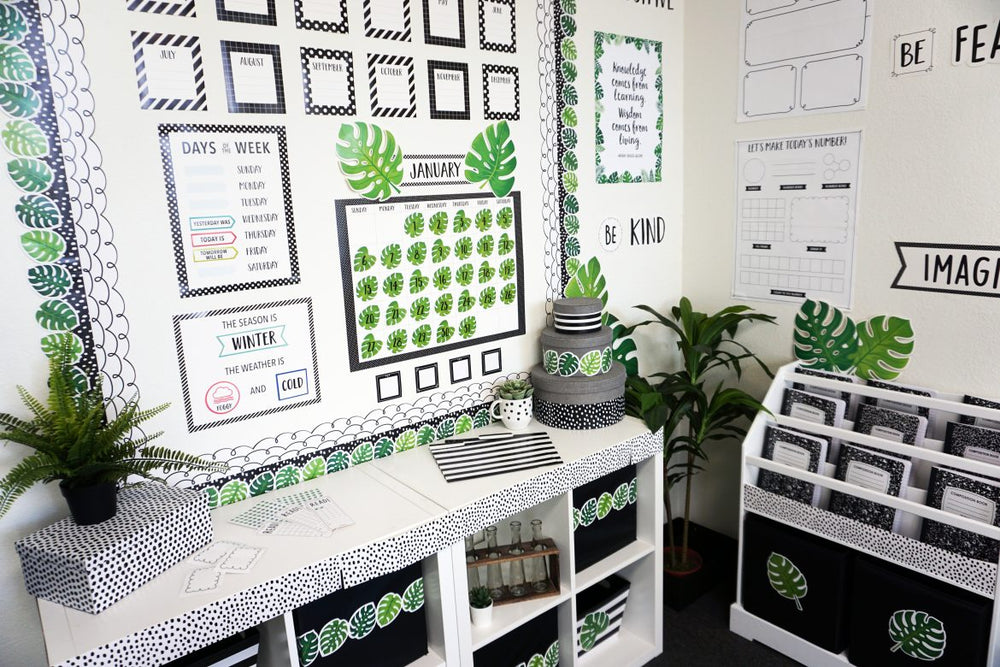 2020 Classroom Trend Report – Monstera Leaves & More