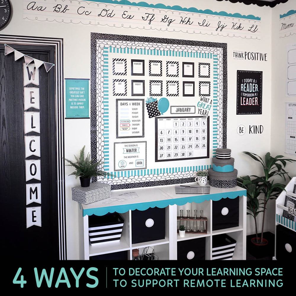 4 Ways to Decorate Your Learning Space to Support Remote Learning!
