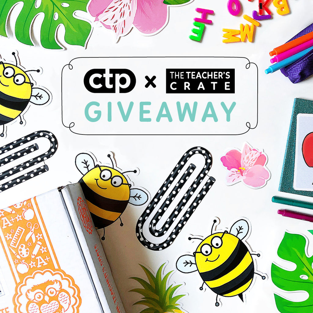 CTP x The Teachers Crate Giveaway
