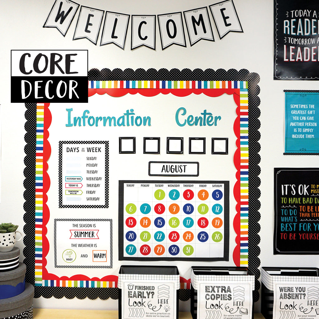 Curate your Classroom with Core Decor