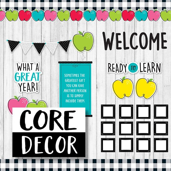 Introducing MORE Core Decor!