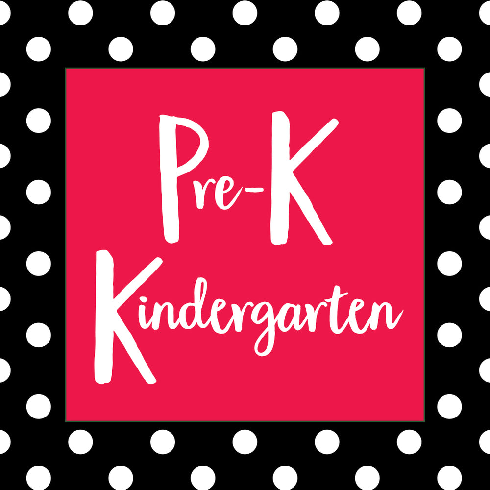 What should my PreK-K child be learning?