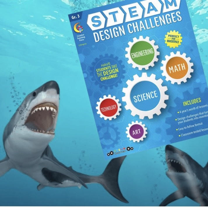 Shark Frenzy Shark Week Themed STEAM Activity
