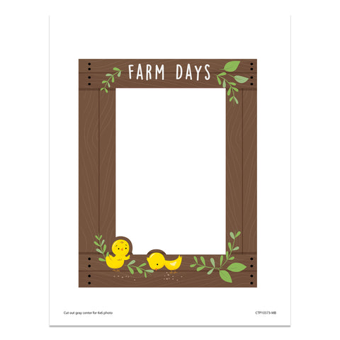 farm friends farm days frame