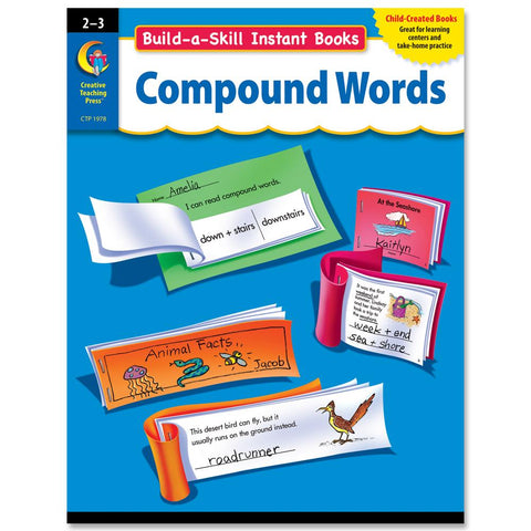 build a skill instant books compound words