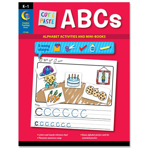 cut and paste ABCs