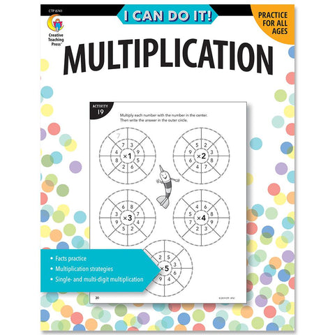 I Can Do It! Multiplication workbook