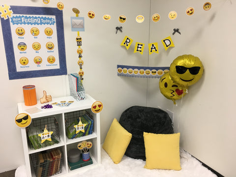 emoji fun classroom reading corner