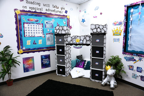 mystical magical classroom reading corner