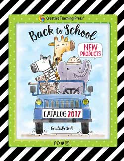 creative teaching press new product online catalog for back to school 2017