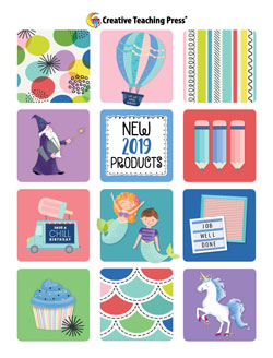 creative teaching press new product catalog for spring 2019