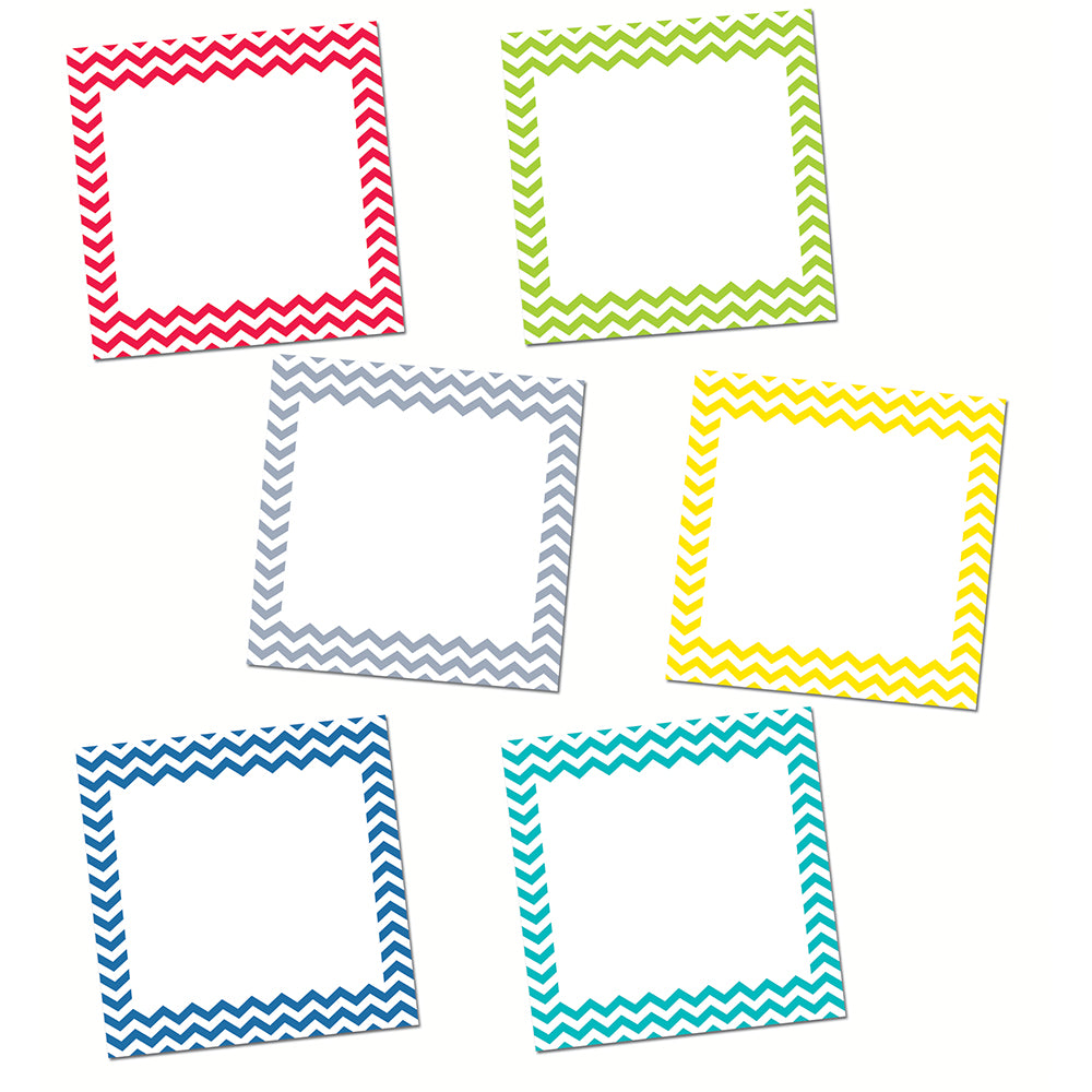 "Chevron Solids 6"" Designer Cut-Outs"