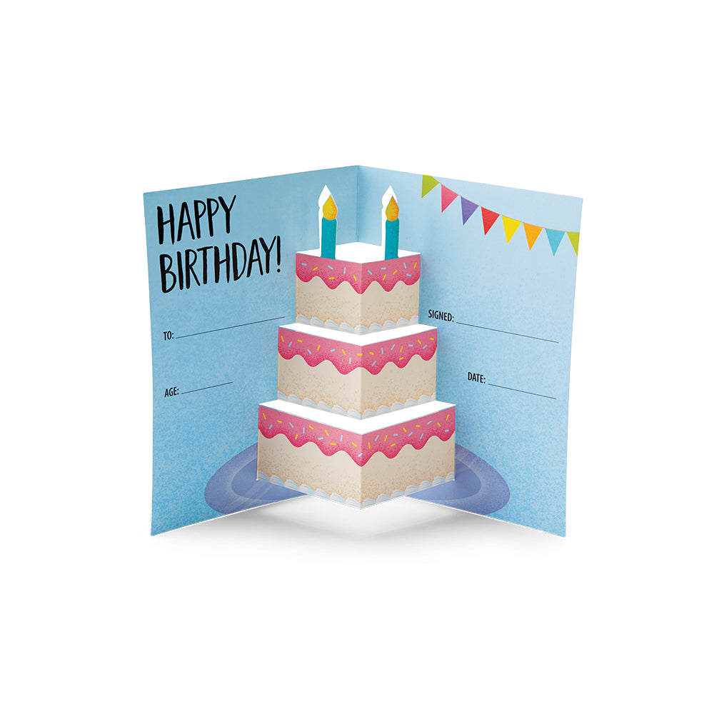 3D Pop Happy Birthday Award